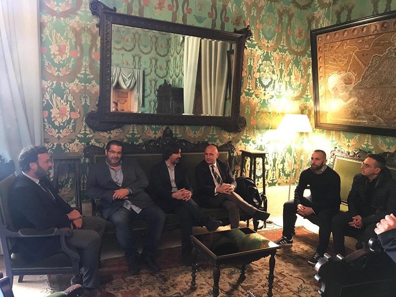 Calcio, il presidente del Siracusa incontra il sindaco Italia