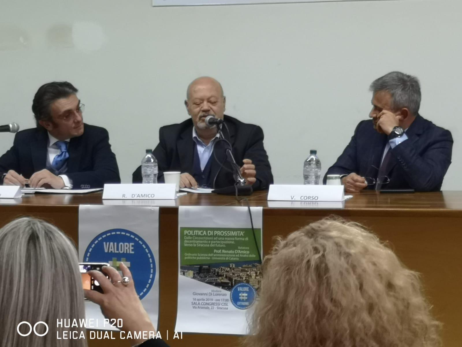 Comunicato stampa dell'Associazione Valore Cittadino.
