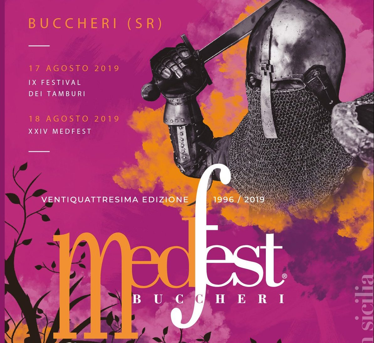 Il 17 ed il 18 agosto 2019 il Medioevo in Sicilia è a Buccheri con la XXIV edizione del MedFest.
