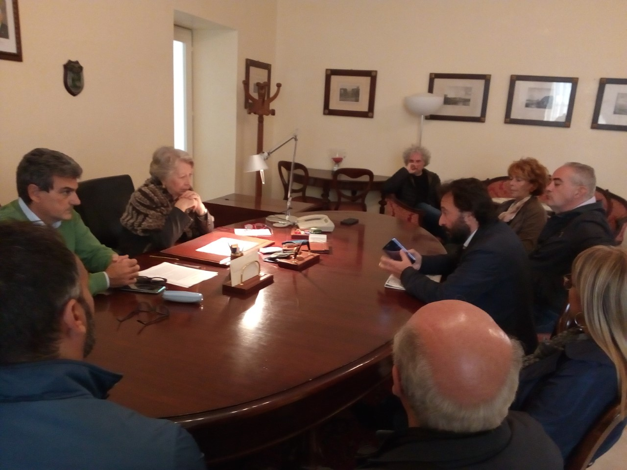 Il Commissario Floreno ha ricevuto le sigle sindacali