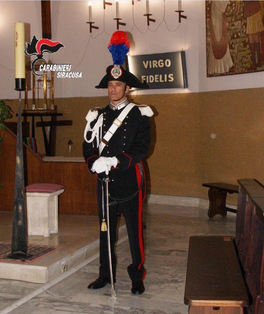 "SIRACUSA.CELEBRATA LA ""VIRGO FIDELIS"", PATRONA DELL'ARMA DEI CARABINIERI"